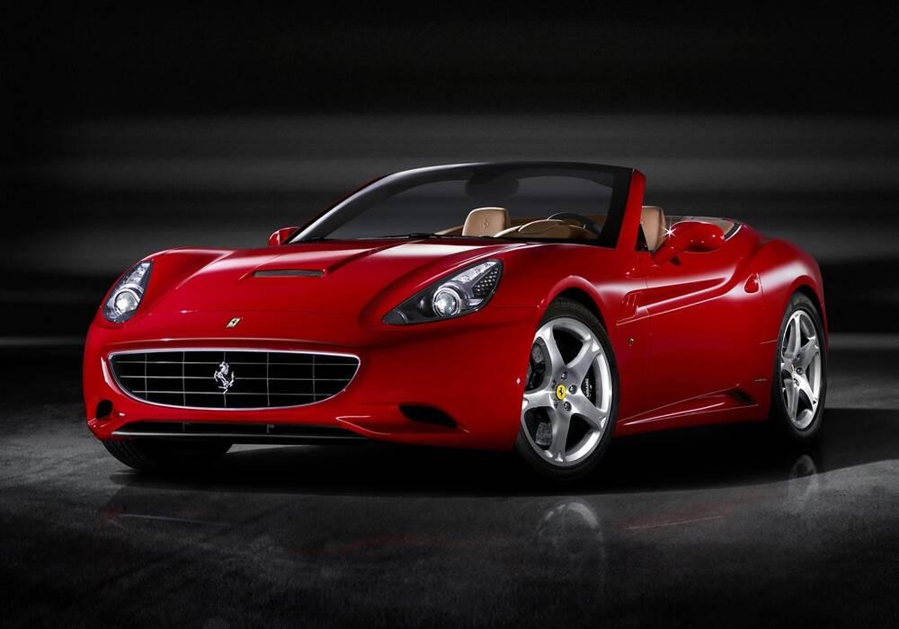 Fiche technique Ferrari California (2008-2013)