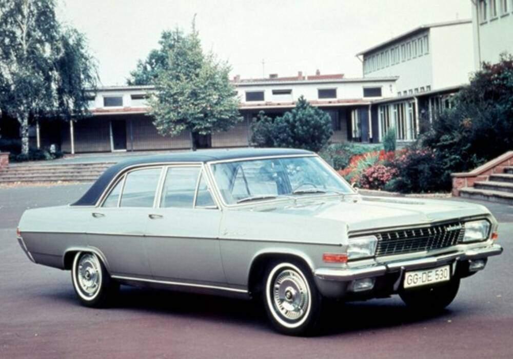 Fiche technique Opel Diplomat 5.4 V8 (1966-1968)