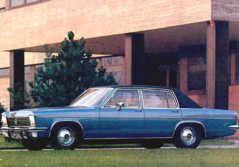 Fiche technique Opel Diplomat II 2.8 (1969-1977)