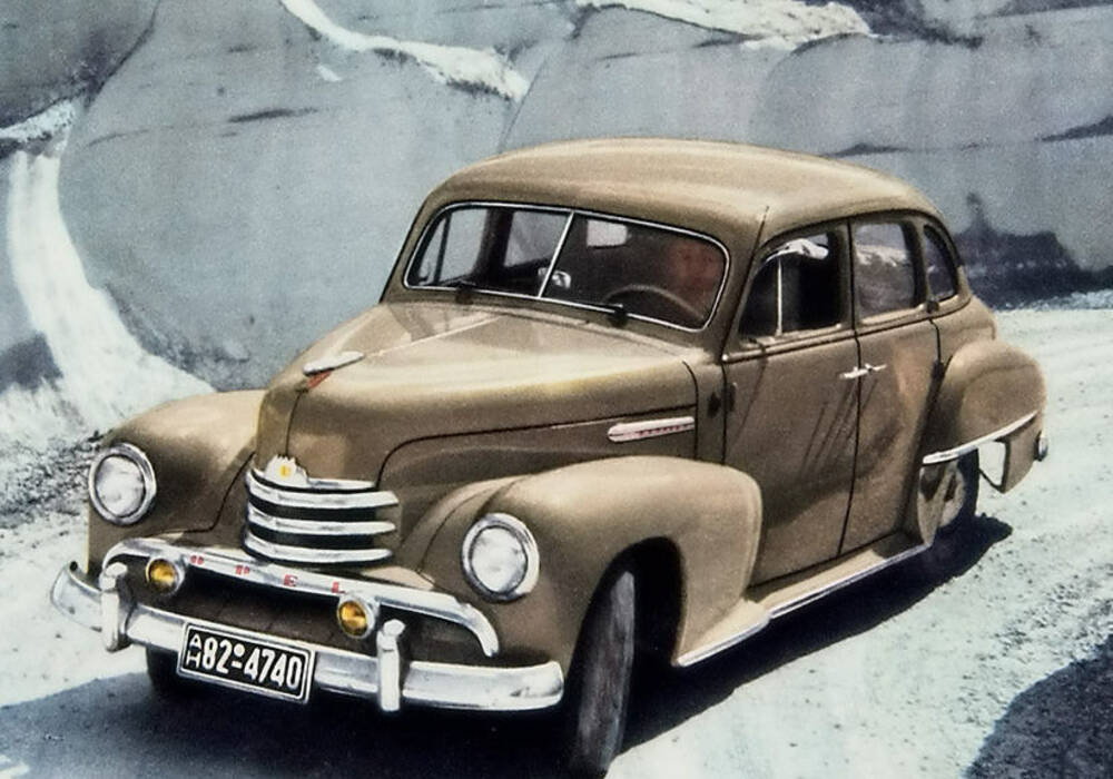 Fiche technique Opel Kapitän (1951-1953)