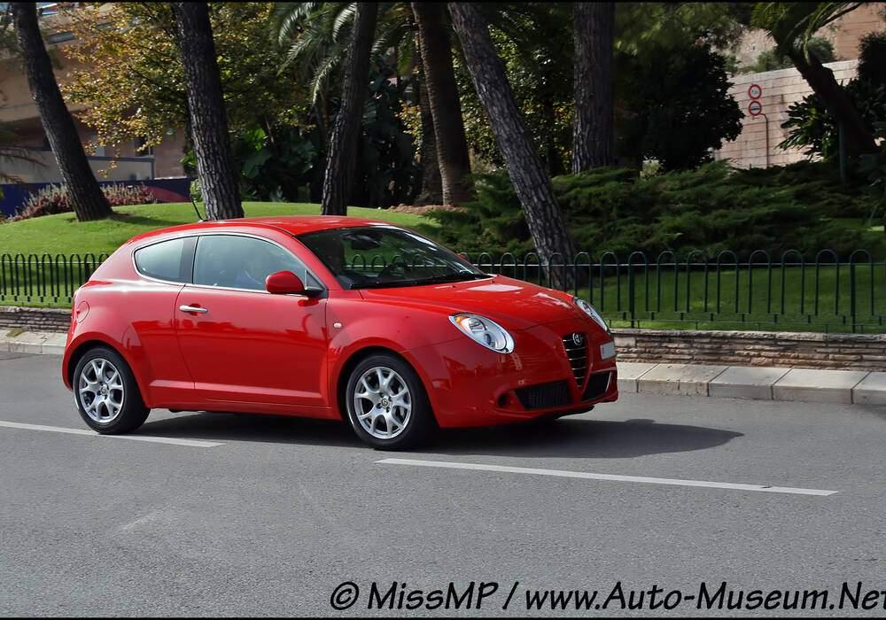 Fiche technique Alfa Romeo MiTo 1.4 MPI 80 (2008-2018)