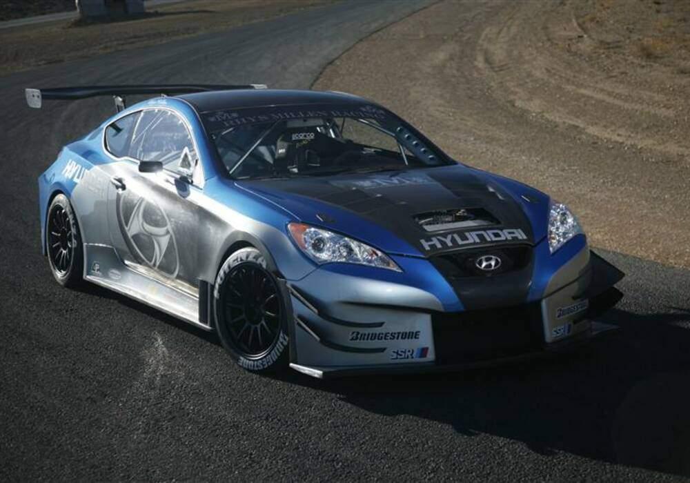Fiche technique Hyundai Genesis RHYS Millen Racing (2008)