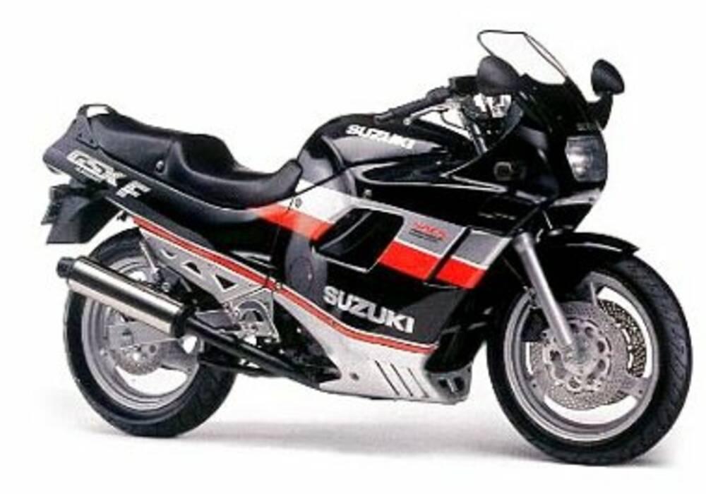 Fiche technique Suzuki GSX-F 750 (1989-1998)