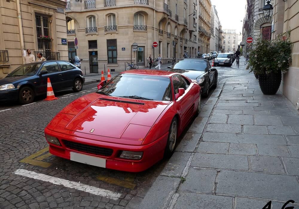 Fiche technique Ferrari 348 TB (1989-1994)