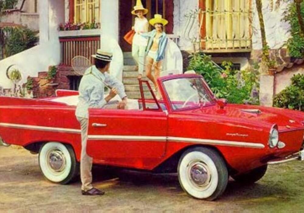 Fiche technique Amphicar 770 (1961-1968)