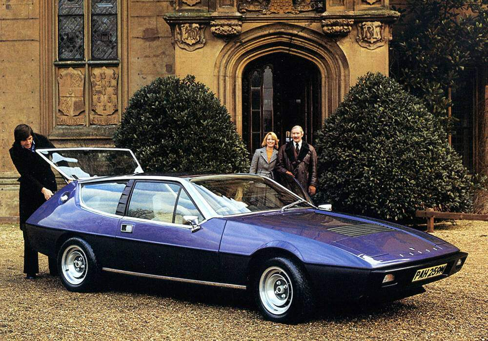 Fiche technique Lotus Elite S2 Type 75 (1974-1980)