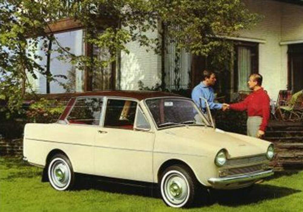 Fiche technique DAF 32 (1965-1967)