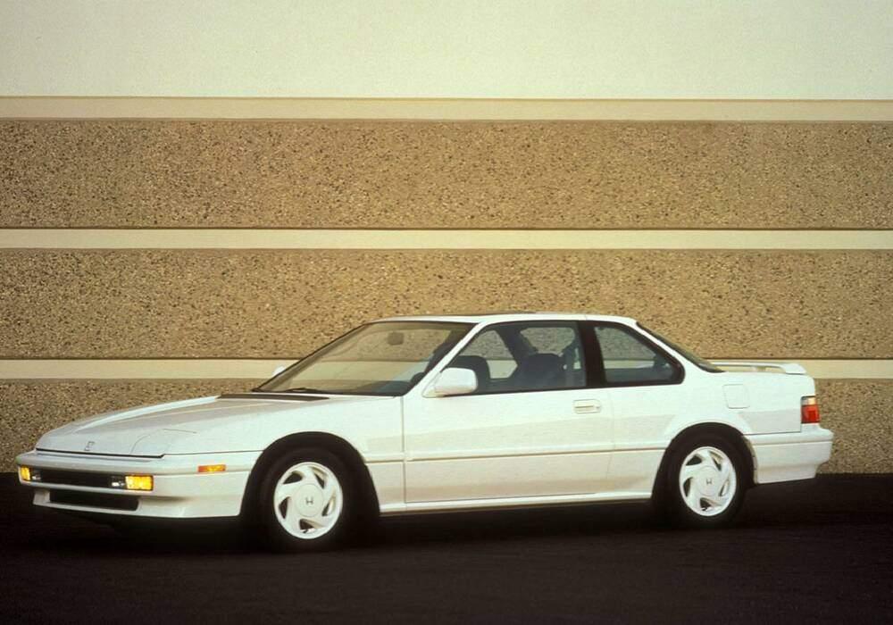Fiche technique Honda Prelude III 2.0 SR (1990-1991)