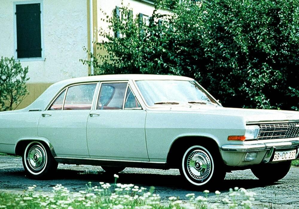 Fiche technique Opel Admiral A 2800 S (1965-1968)