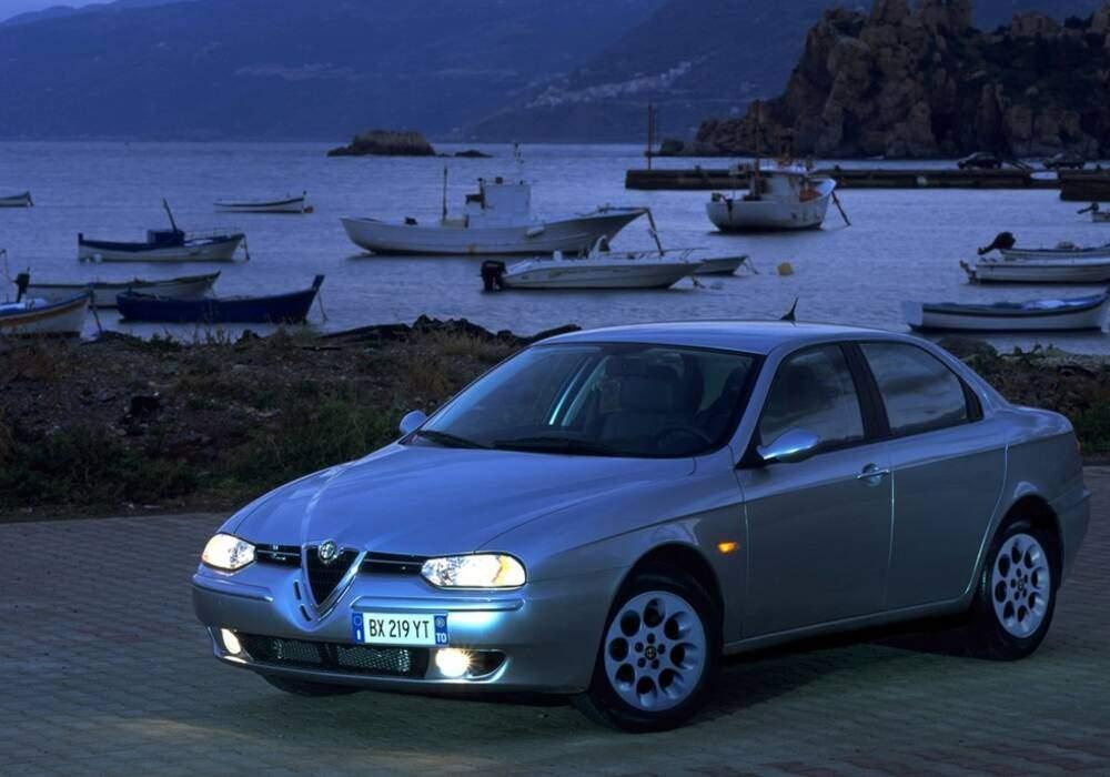 Fiche technique Alfa Romeo 156 1.9 JTD 110 (932) (1999-2000)