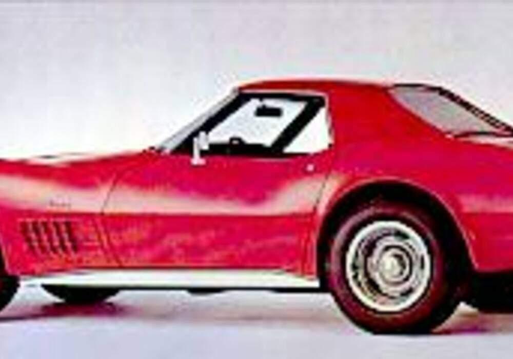 fiche technique chevrolet corvette c3 454ci 370 1971. Black Bedroom Furniture Sets. Home Design Ideas