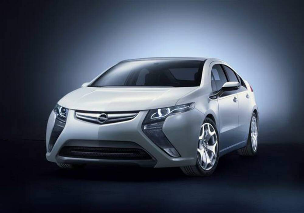 Fiche technique Opel Ampera Concept (2009)