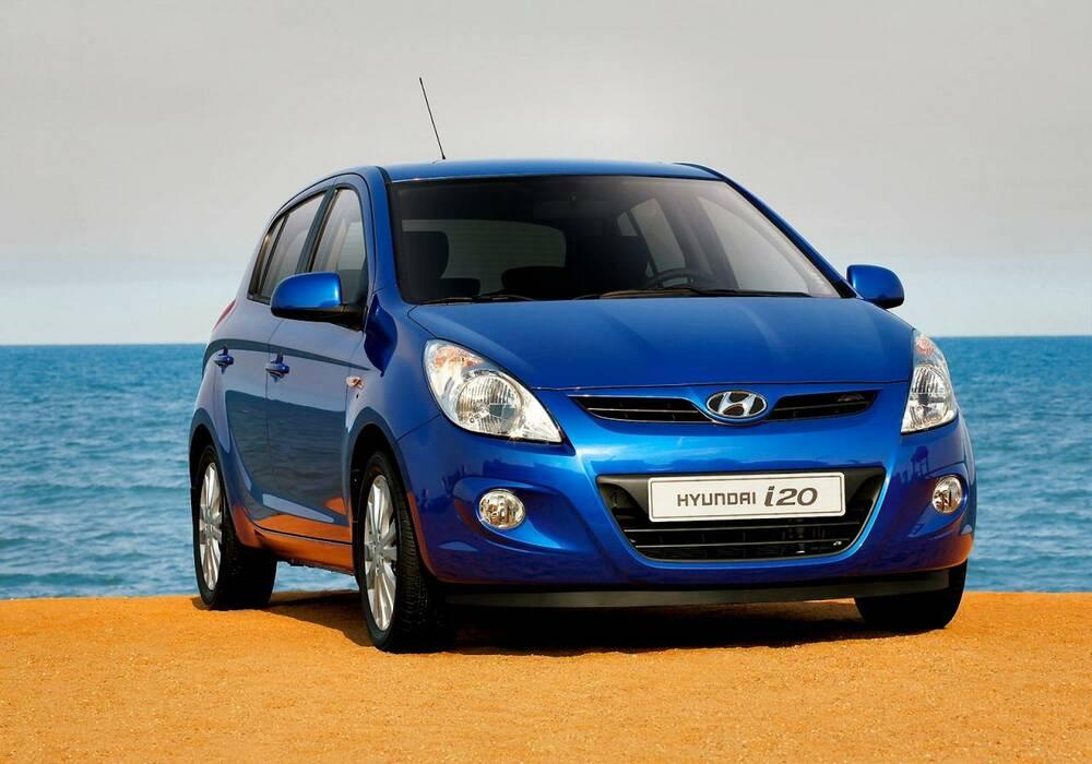 Fiche technique Hyundai i20 1.6 (2009)