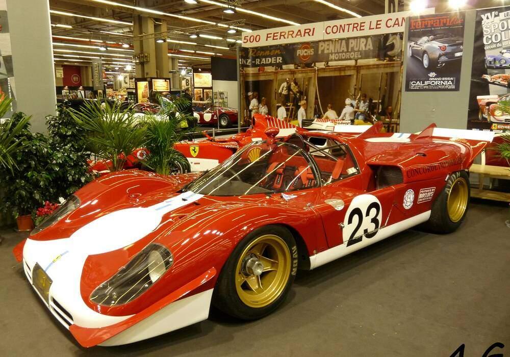 Fiche technique Ferrari 512 S (1969-1971)