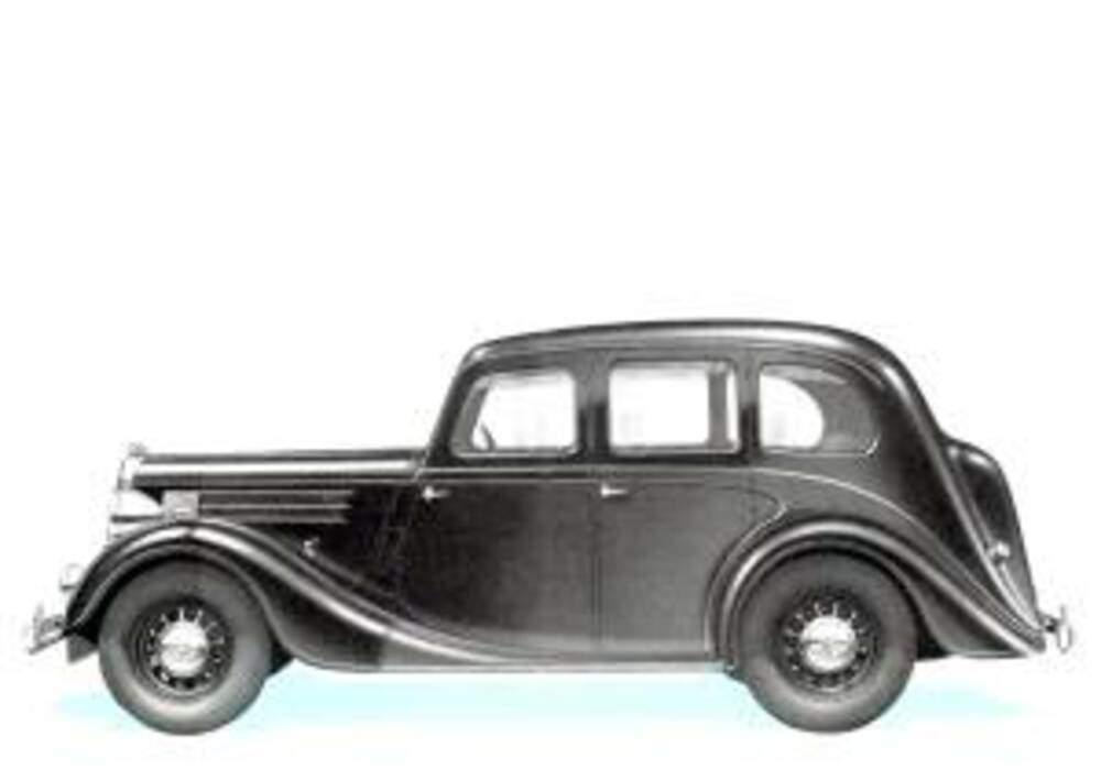 Fiche technique Wolseley 18/85 Saloon (1948)