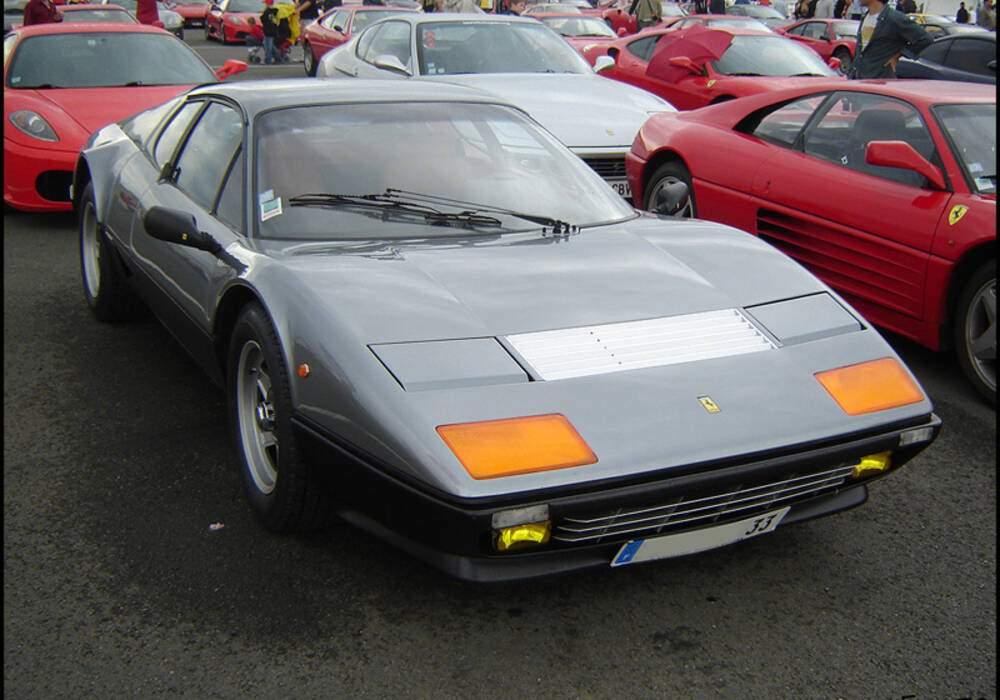 Fiche technique Ferrari 512 BBi (1981-1984)