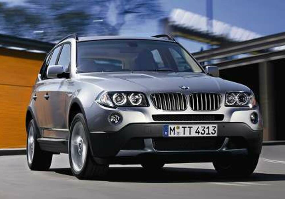 fiche technique bmw x3 e83 2006 2010. Black Bedroom Furniture Sets. Home Design Ideas