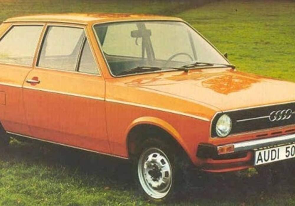 Fiche technique Audi 50 LS (1974-1978)