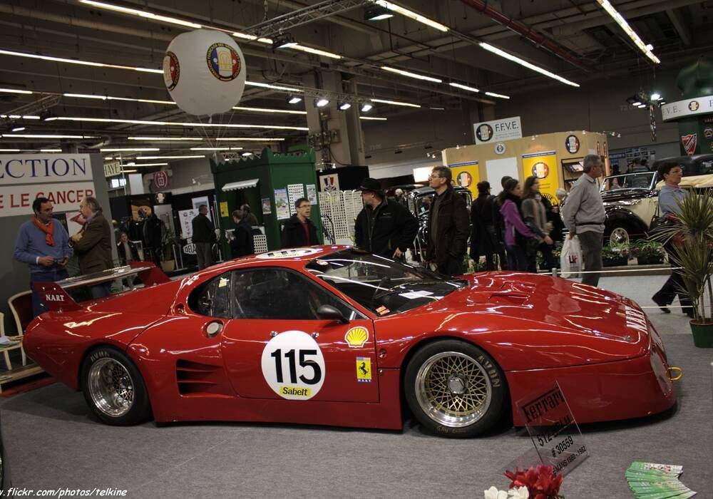 Fiche technique Ferrari 512 BB LM (1979-1982)