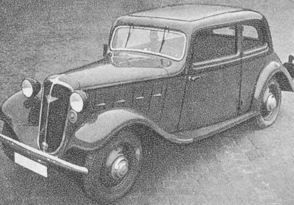 Fiche technique Hanomag Rekord Typ 15K (1934-1940)