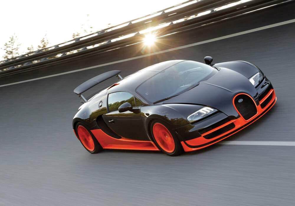 Fiche technique Bugatti EB 16.4 Veyron Super Sport « World Record Edition » (2011)