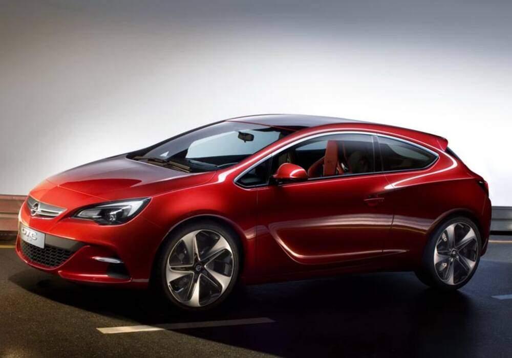 Fiche technique Opel GTC Paris Concept (2010)