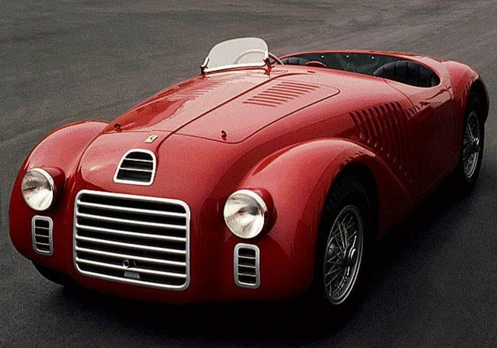 Fiche technique Ferrari 125 Sport (1947)