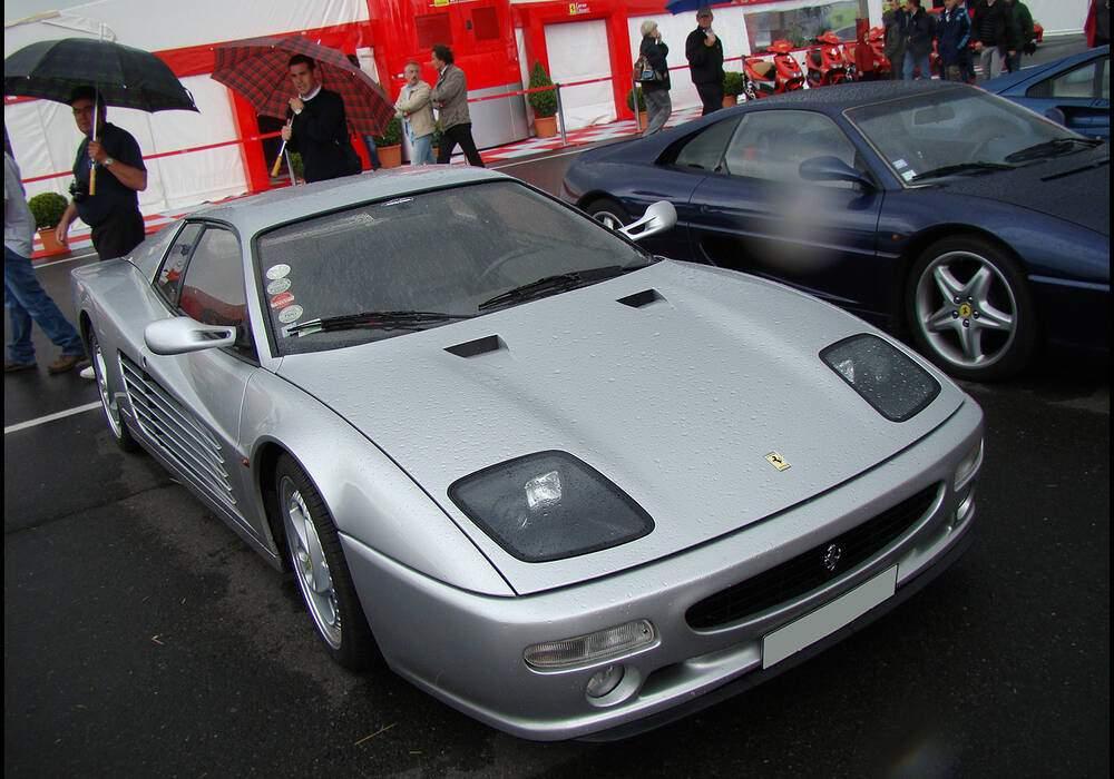 Fiche technique Ferrari F512 M (1994-1996)