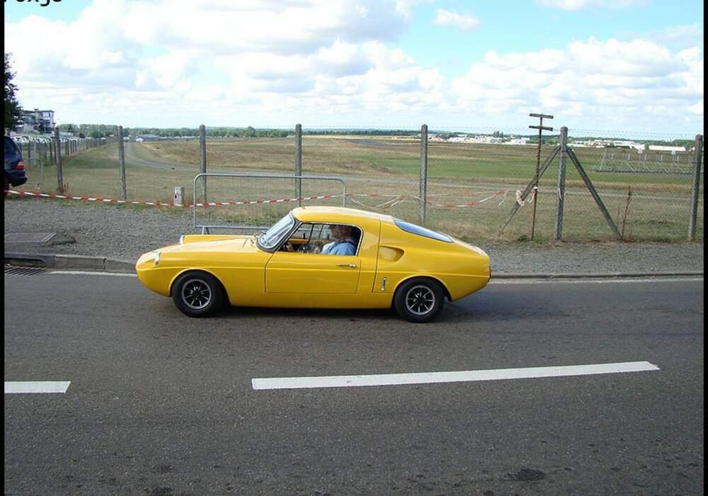 Fiche technique Unipower 998 GT (1966-1970)