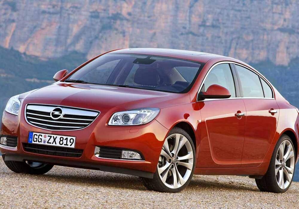 Fiche technique Opel Insignia 2.0 CDTi 130 (2008-2015)