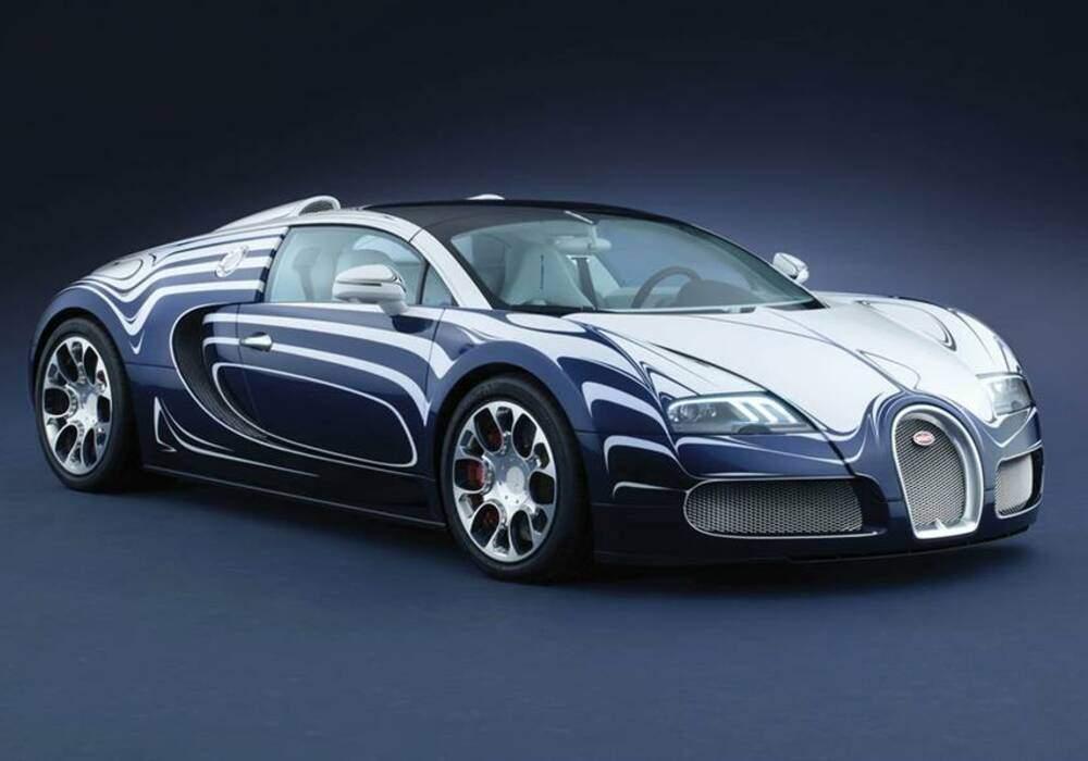Fiche technique Bugatti EB 16.4 Veyron Grand Sport « L'Or Blanc » (2011)