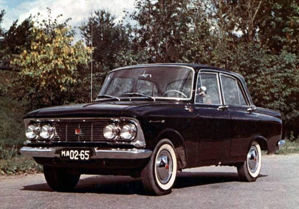 Fiche technique Moskvitch 408 (1964-1974)