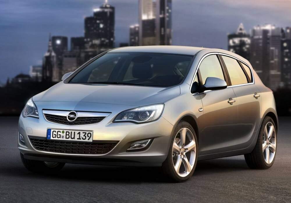 Fiche technique Opel Astra IV 1.3 CDTi 95 (2009-2013)