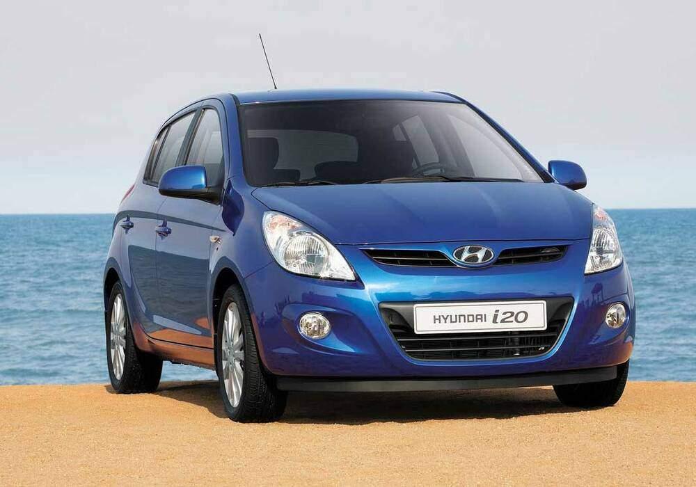 Fiche technique Hyundai i20 1.2 (2009)