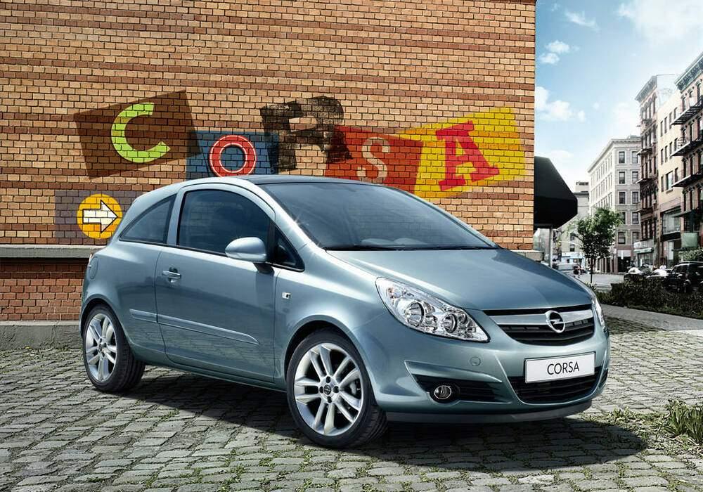 Fiche technique Opel Corsa IV 1.3 CDTi 75 (2006-2014)
