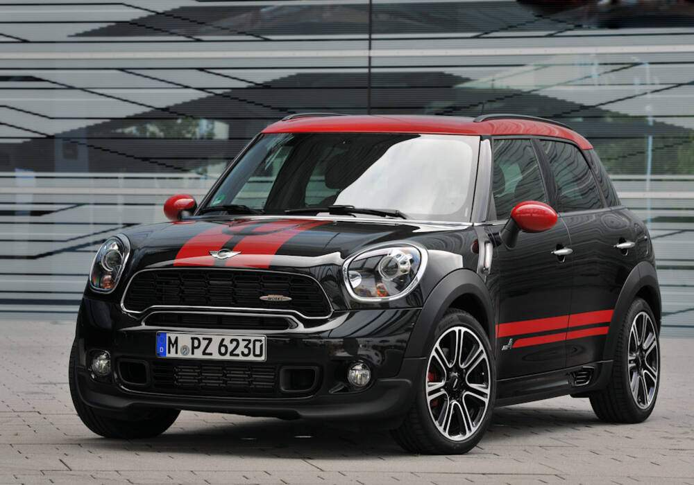 fiche technique mini countryman john cooper works 2012 2017. Black Bedroom Furniture Sets. Home Design Ideas