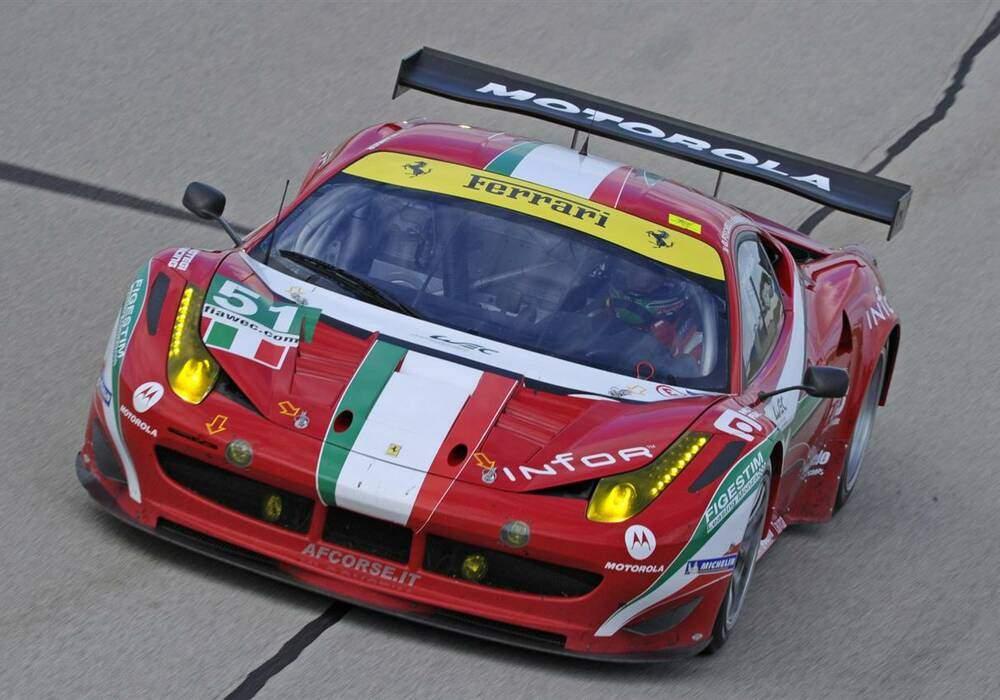 Fiche technique Ferrari 458 Italia GT2 (2011)