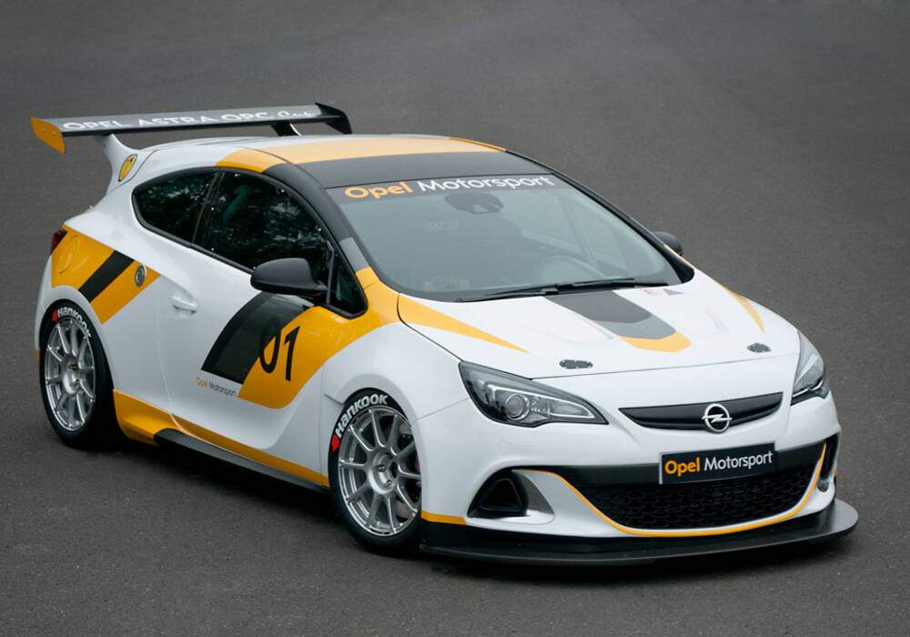 Fiche technique Opel Astra OPC Cup (2013)