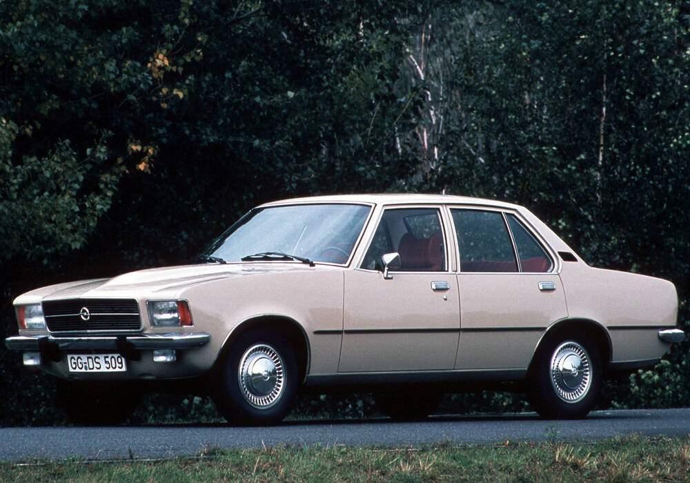 Fiche technique Opel Rekord VI 2100 D (D) (1972-1977)