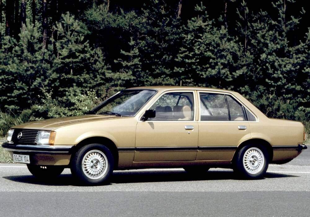 Fiche technique Opel Rekord VII 2.0S (E1) (1977-1982)