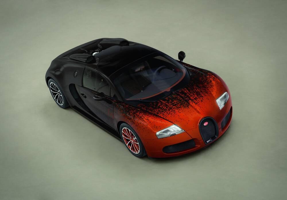 Fiche technique Bugatti EB 16.4 Veyron Grand Sport « Bernar Venet » (2012)