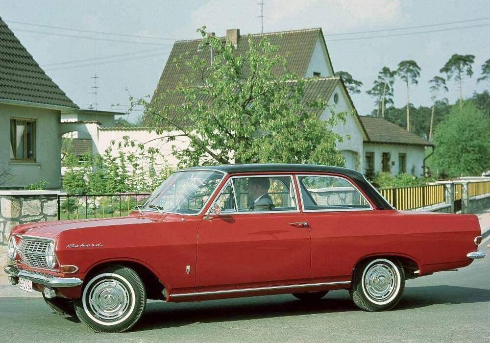 Fiche technique Opel Rekord III 1700 (A) (1963-1965)