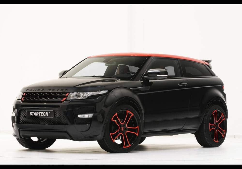 Fiche technique Startech Range Rover Evoque (2012)