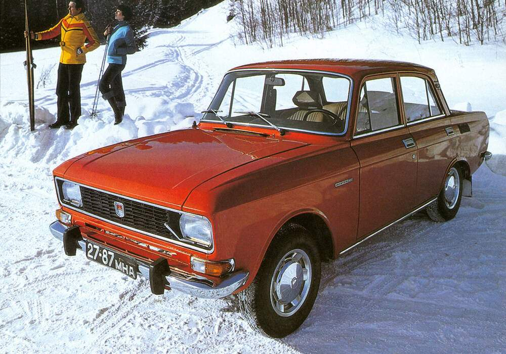 Fiche technique Moskvitch 2140 1.5 (1976-1988)