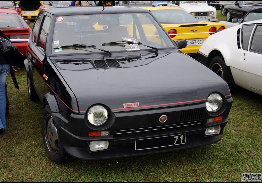 Fiche technique Fiat Ritmo Abarth 125 TC / 130 TC (1982-1987)