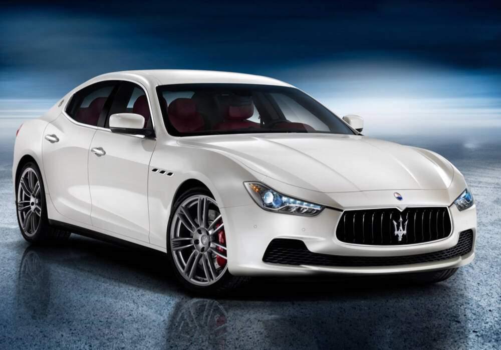 Fiche technique Maserati Ghibli III S (M157) (2013-2017)