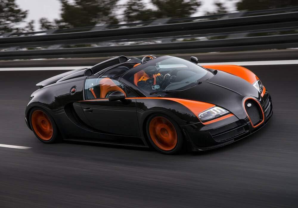 Fiche technique Bugatti EB 16.4 Veyron Grand Sport Vitesse « WRC Edition » (2013)