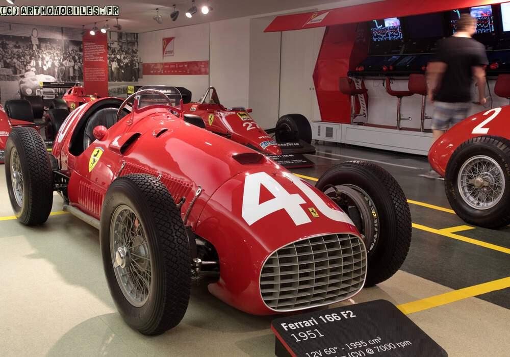 Fiche technique Ferrari 166 F2 (1949-1951)