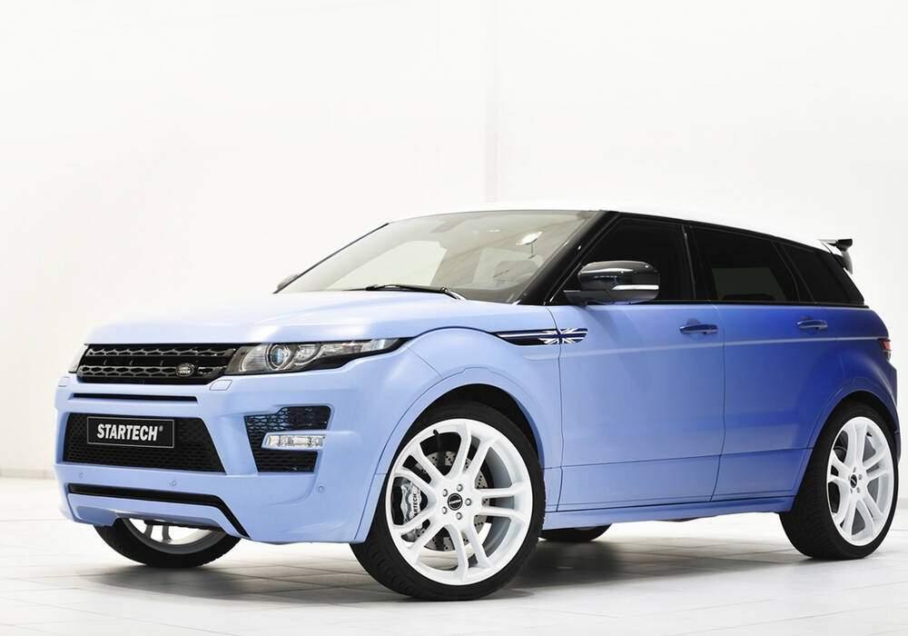 Fiche technique Startech Range Rover Evoque Si4 (2013)