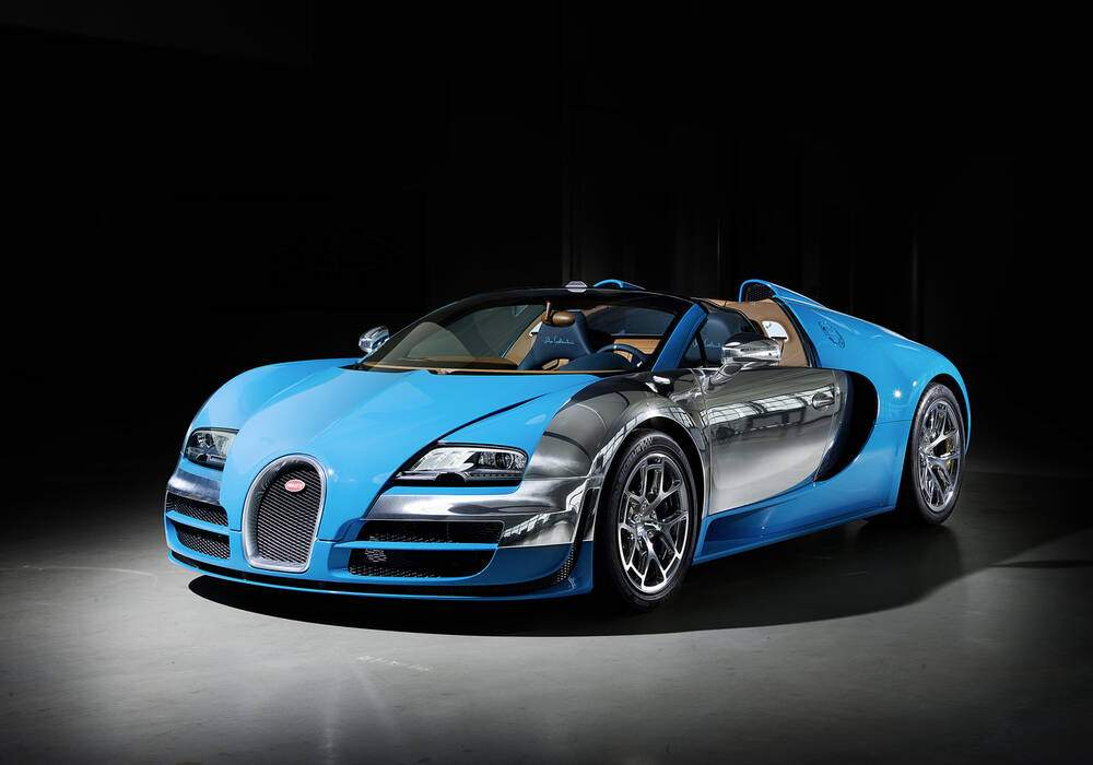 Fiche technique Bugatti EB 16.4 Veyron Grand Sport Vitesse « Meo Costantini » (2013)